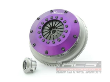 Xtreme Performance - 200mm Sprung Ceramic Twin Plate Clutch Kit Incl Flywheel