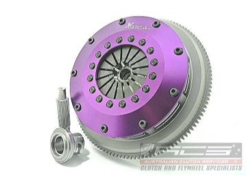 Xtreme Performance - 200mm Sprung Ceramic Twin Plate Clutch Kit Incl Flywheel-1