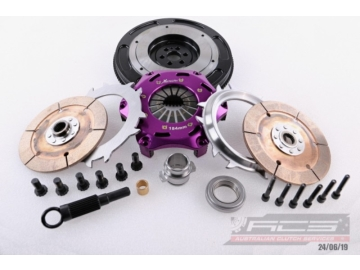 Xtreme Performance - 200mm Sprung Ceramic Twin Plate Clutch Kit Incl Flywheel-1-1