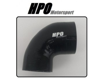 90 HPO Motorsport SORT  Silicone 80mm Legg