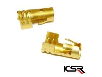 Brass Push on Terminal for Coil