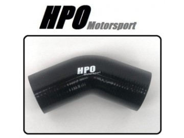 45 HPO Motorsport SORT  Silicone 80mm Legg